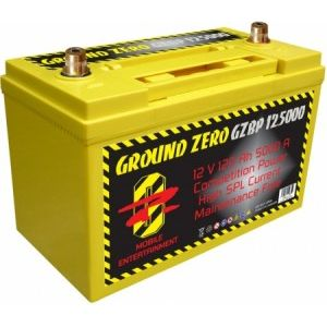 Batterie Competition GZ 12v 120Ah 5000 Amperes
